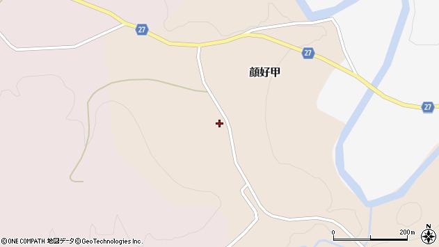 山形県西村山郡大江町顔好甲641周辺の地図