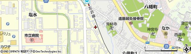 山形県寒河江市寒河江塩水108周辺の地図