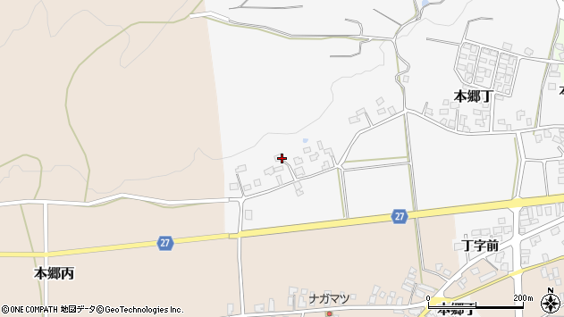 山形県西村山郡大江町本郷丁225周辺の地図