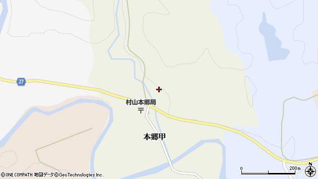 山形県西村山郡大江町本郷甲219周辺の地図