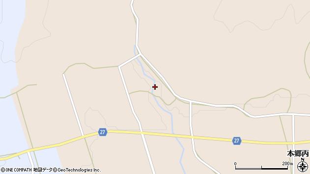 山形県西村山郡大江町本郷丙561周辺の地図