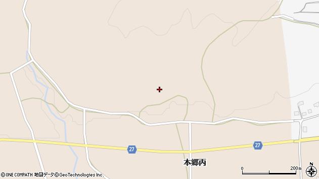 山形県西村山郡大江町本郷丙46周辺の地図