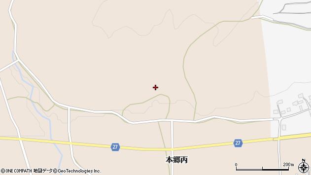 山形県西村山郡大江町本郷丙32周辺の地図