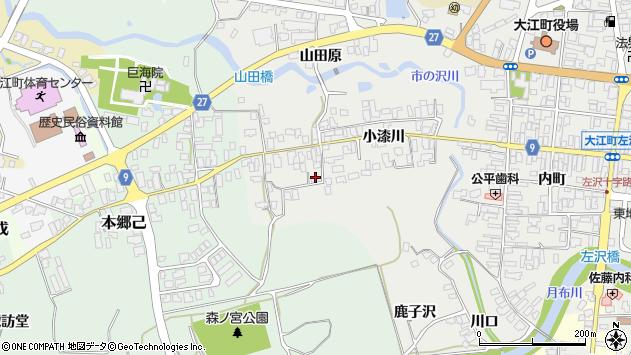 山形県西村山郡大江町左沢644周辺の地図