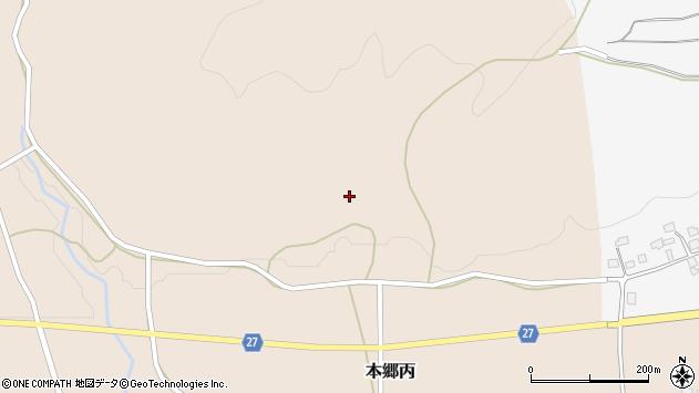 山形県西村山郡大江町本郷丙31周辺の地図