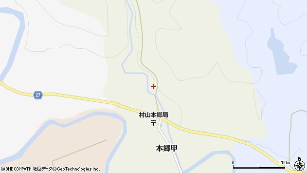 山形県西村山郡大江町本郷甲葛沢周辺の地図