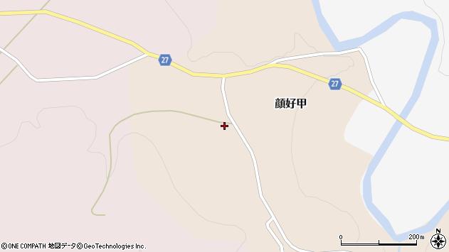 山形県西村山郡大江町顔好甲27周辺の地図