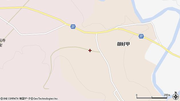 山形県西村山郡大江町顔好甲22周辺の地図