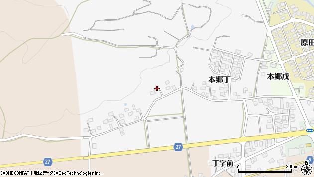 山形県西村山郡大江町本郷丁213周辺の地図