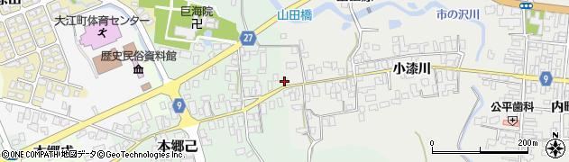 山形県西村山郡大江町左沢676周辺の地図