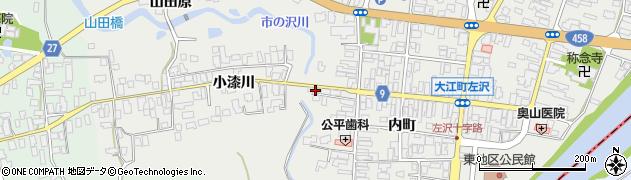 山形県西村山郡大江町左沢539周辺の地図