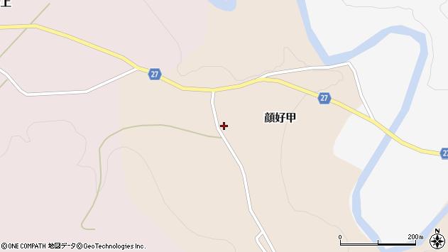 山形県西村山郡大江町顔好甲周辺の地図