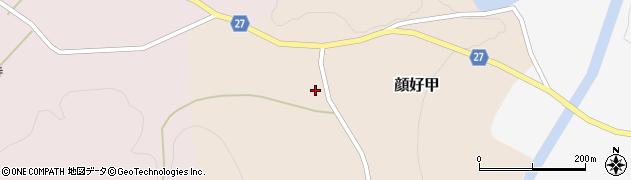 山形県西村山郡大江町顔好甲69周辺の地図