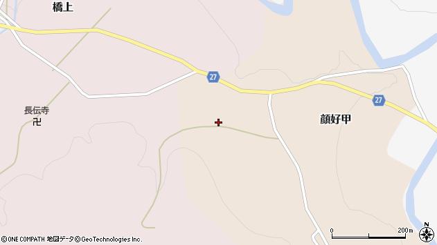 山形県西村山郡大江町顔好甲14周辺の地図