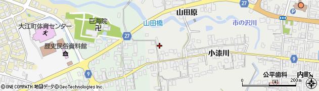 山形県西村山郡大江町左沢2612周辺の地図