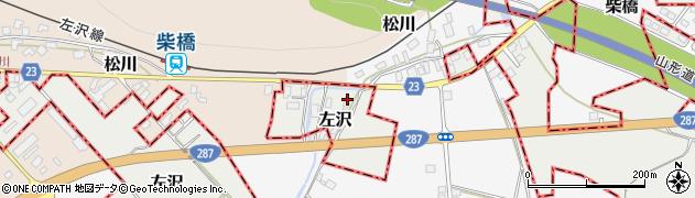 山形県西村山郡大江町左沢2094周辺の地図