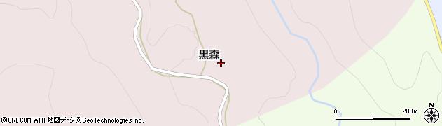 山形県西村山郡大江町黒森48周辺の地図