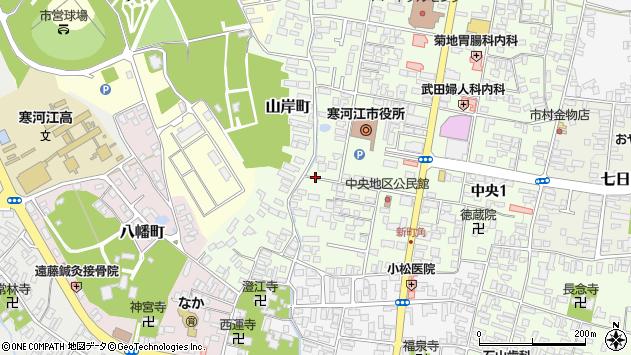 山形県寒河江市山岸町5周辺の地図