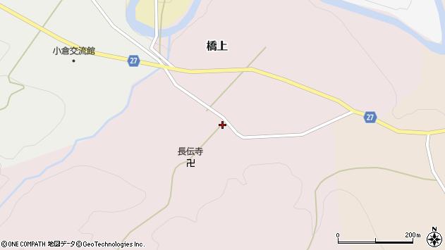 山形県西村山郡大江町橋上224周辺の地図