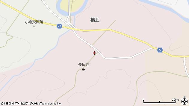 山形県西村山郡大江町橋上226周辺の地図