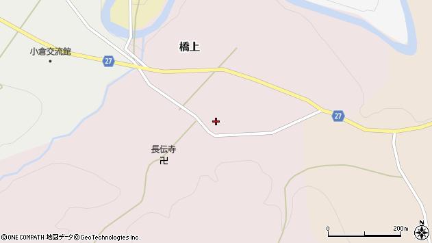 山形県西村山郡大江町橋上213周辺の地図