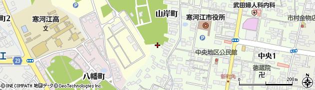 山形県寒河江市山岸町3周辺の地図