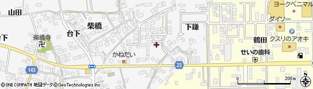 山形県寒河江市柴橋979周辺の地図