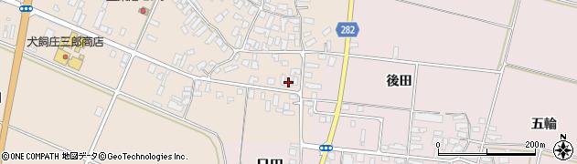 山形県寒河江市西根高畑123周辺の地図
