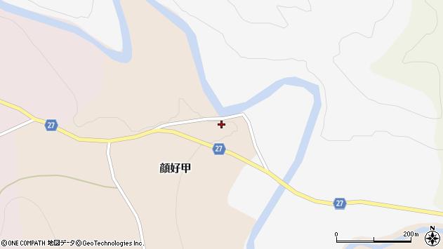 山形県西村山郡大江町顔好甲181周辺の地図