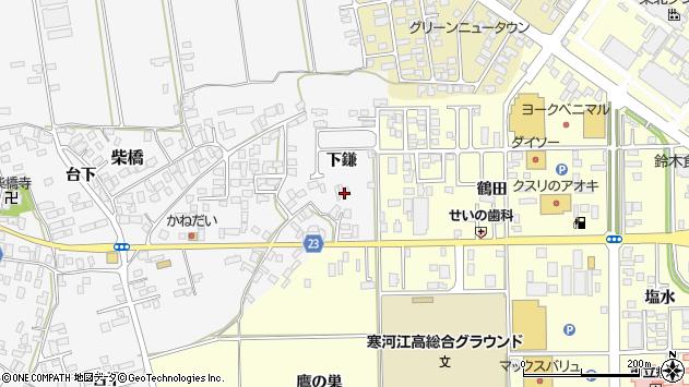 山形県寒河江市柴橋1052周辺の地図