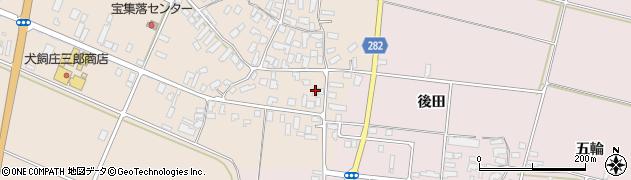 山形県寒河江市西根高畑122周辺の地図
