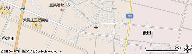 山形県寒河江市西根高畑1767周辺の地図
