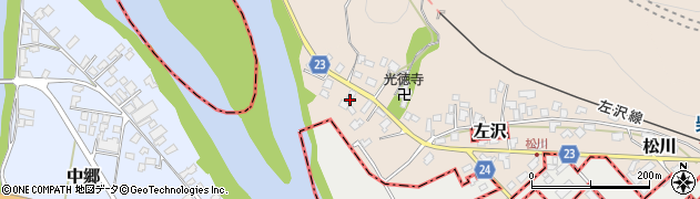 山形県寒河江市松川15周辺の地図