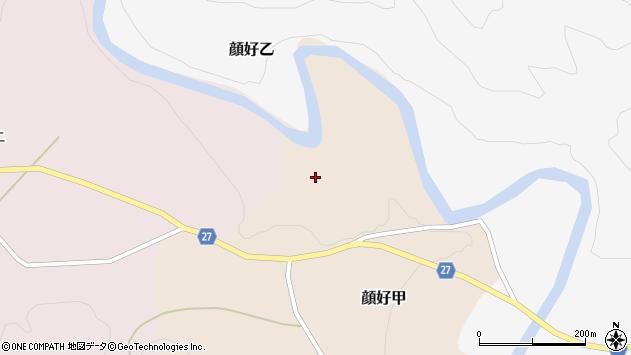 山形県西村山郡大江町顔好甲三合田周辺の地図