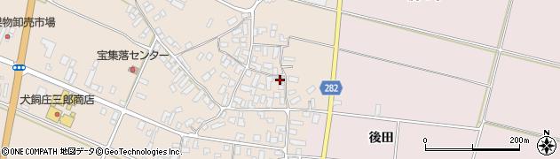 山形県寒河江市西根高畑1740周辺の地図