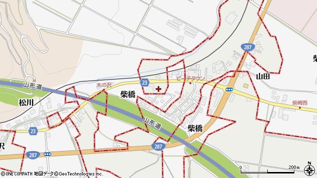 山形県西村山郡大江町左沢2152周辺の地図