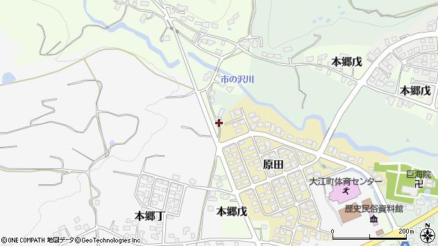 山形県西村山郡大江町本郷己65周辺の地図