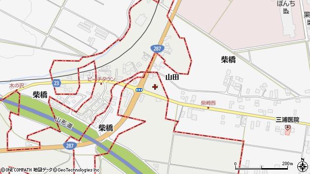 山形県西村山郡大江町左沢2132周辺の地図