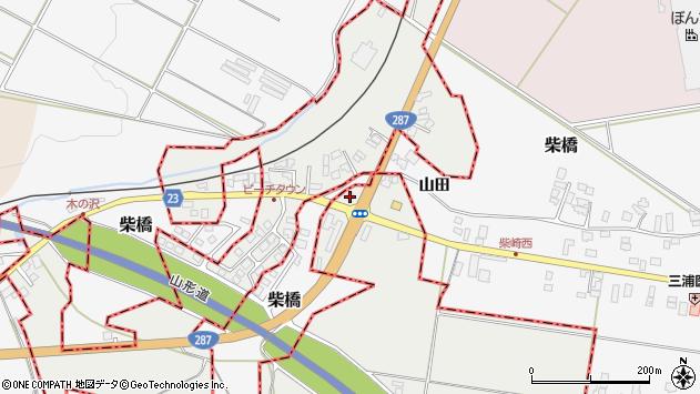 山形県西村山郡大江町左沢2137周辺の地図