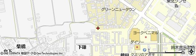 山形県寒河江市緑町98周辺の地図