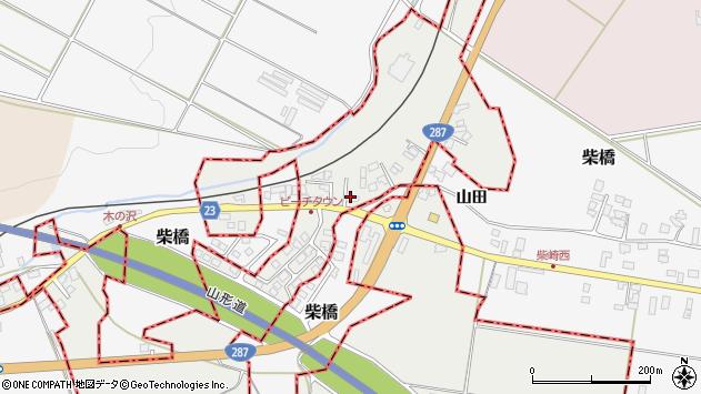 山形県西村山郡大江町左沢2431周辺の地図