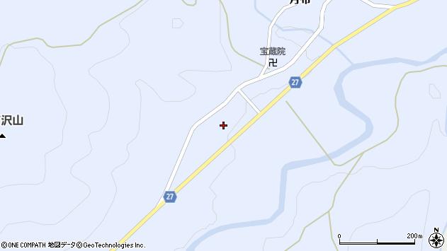 山形県西村山郡大江町月布388周辺の地図