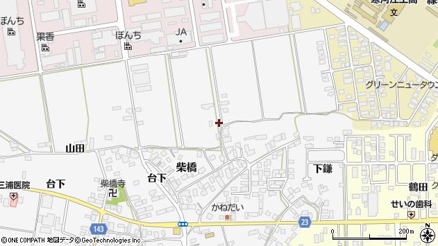 山形県寒河江市柴橋164周辺の地図