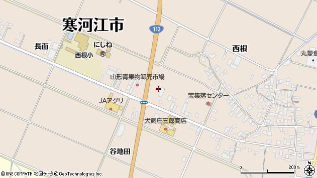 山形県寒河江市西根高畑51周辺の地図