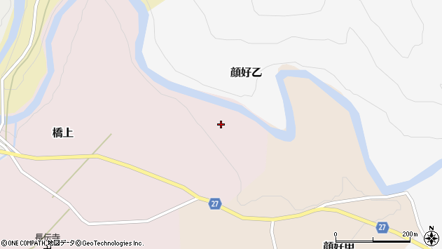 山形県西村山郡大江町橋上394周辺の地図
