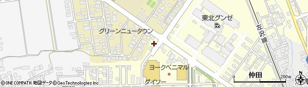 山形県寒河江市寒河江鶴田67周辺の地図