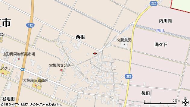 山形県寒河江市西根高畑1726周辺の地図