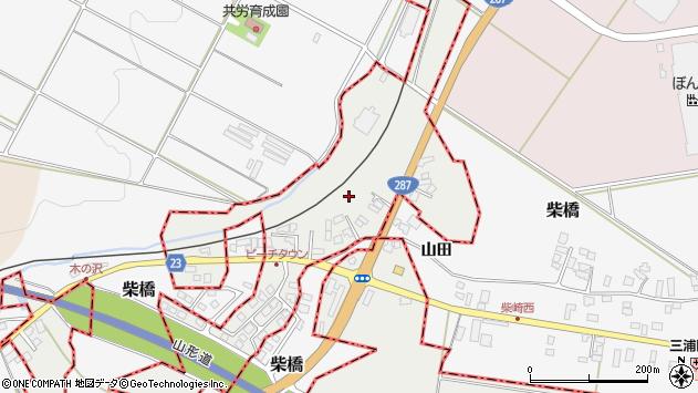 山形県西村山郡大江町左沢2760周辺の地図