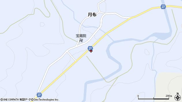 山形県西村山郡大江町月布229周辺の地図