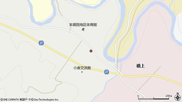 山形県西村山郡大江町十八才甲16周辺の地図